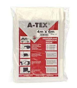 A-Tex gewebeverstärkte Abdeckplane Garten Boot wasserdicht maler – Bild 4