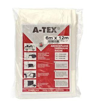 A-Tex gewebeverstärkte Abdeckplane Garten Boot wasserdicht maler – Bild 9