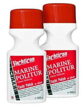 Yachticon Marine Politur - 2 Flaschen zu je 500ml = 1 Liter – Bild 1