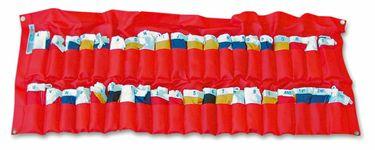 Osculati Internationaler Flaggensatz Gran Pavese mit 40 Signalflaggen