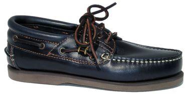 Blueport Herren Klassik Comfort Segelschuh - Klassischer Bootsschuh in blau und weiteren Farben