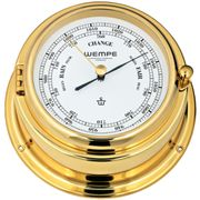 Wempe Barometer Bremen II Messing  Ø 150 mm 001