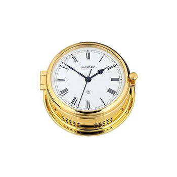 Quarz-Glasenuhr Admiral II Messing