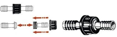 Osculati Schlauchverbinder - Zylinderförmig – Bild 2