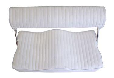 Osculati Kunstleder Zweiersitz 80x40cm mit klappbarer Rückenlehne – Bild 2