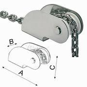 Osculati Edelstahl Bugrolle - 270x54x80mm - für Anker bis 10kg 001