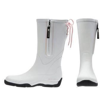 Tretorn Damen Winter Gummistiefel Regenstiefel Langschaft weiß warm – Bild 1