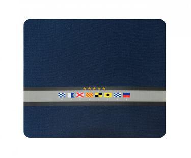 Navyline Neopren Maus Pad 22 x 18 cm - mit Signalflaggen – Bild 1