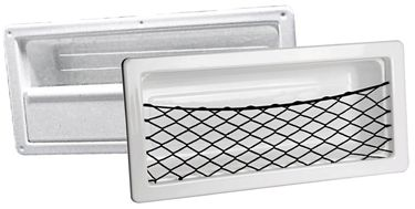 Osculati ABS Seiten-Ablage fest oder mit Netz - 540mm x 244mm x 120mm – Bild 1