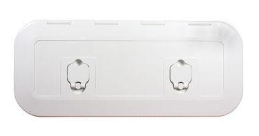 Osculati ABS Seitenfach - 600mmx250mm - mit Frontklappe - erhältlich mit oder ohne Unterteilung des Faches – Bild 1