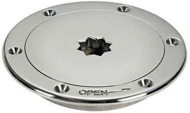 Osculati Edelstahl Inspektionsluke - Ø 132mm - schnellöffnend – Bild 1