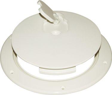 Osculati Kunststoff Inspektionsbodenluke mit Drehverschluss - Ø265mm - wasserdicht – Bild 3