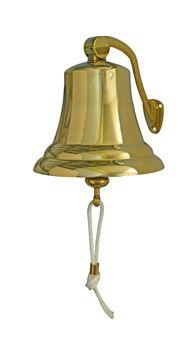 Osculati Messing Schiffsglocke mit Haltebügel - erhältlich: Ø100mm, Ø150mm oder Ø175mm - – Bild 3