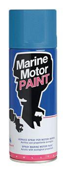 Osculati Motor Farbspray für NANNI Motoren Blau Metallic