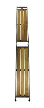 Osculati Edelstahl Gangway - Länge 1,6m oder 2,2m - klappbar – Bild 5