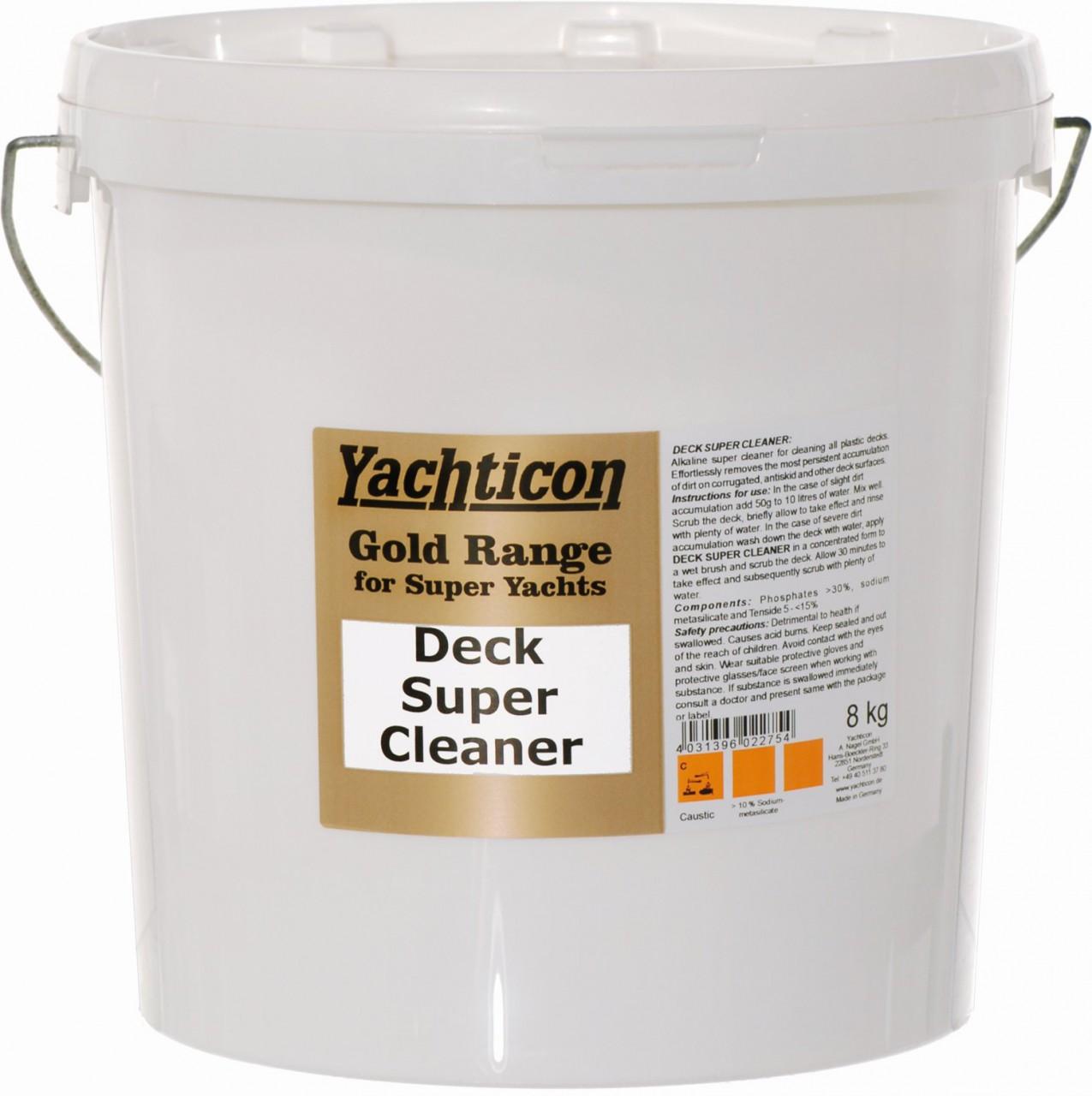 Yachticon Gold Range Super Yacht Deck Und Teak Reiniger 8kg
