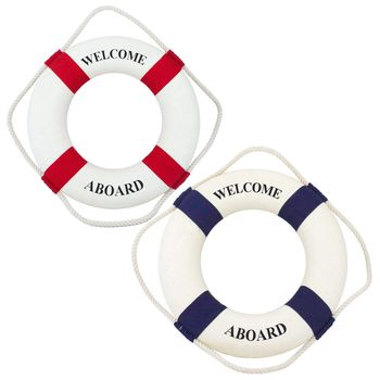 Navyline Dekorations-Rettungsring 45cm maritime Deko groß  – Bild 1