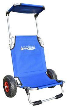 Navyline Beach Trolley mit Sitz – Bild 1