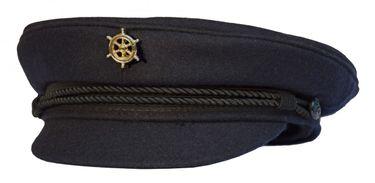 Modas Original Elbsegler mit vergoldeter Anstecknadel - marineblau – Bild 3