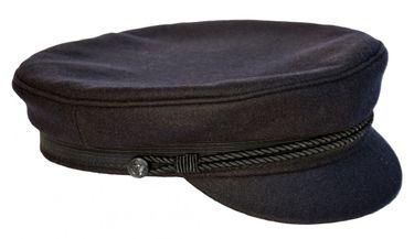 Modas Original Elbsegler mit vergoldeter Anstecknadel marineblau – Bild 5
