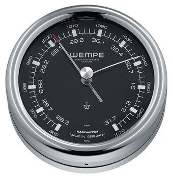 Wempe Edelstahl Barometer Pilot III Ø 100 mm