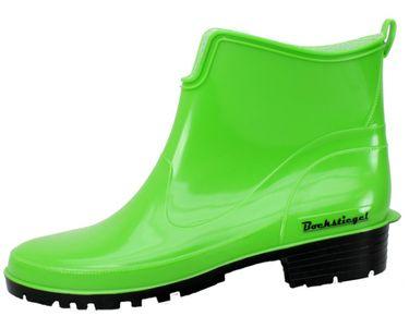 Bockstiegel Damen Gummistiefel Saskia Regenstiefel aus Polyvinylchlorid (PVC) kurzschaft – Bild 5