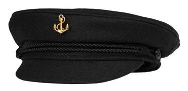 Modas Original Elbsegler mit vergoldeter Anstecknadel - schwarz – Bild 2
