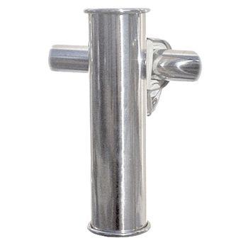 Osculati Edelstahl Angelrutenhalter zur Korbmontage - AISI 316 – Bild 1