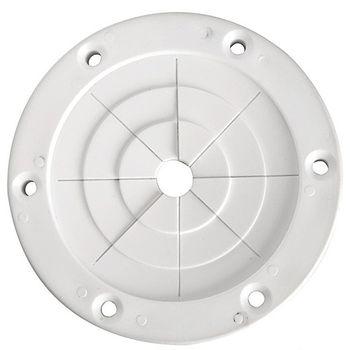 Osculati Angelrutenhalter - flexibel zur Schottmontage - im 2-er Set – Bild 3
