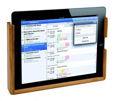 Bamboo Marine System Bambus Halter - iPad / Touchpad - Halterung 243 x 155 x 15 mm – Bild 5