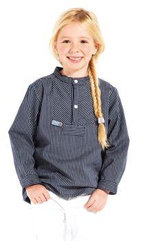 Modas Kinder Finkenwerder Fischerhemd BasicLine schmal gestreift – Bild 3