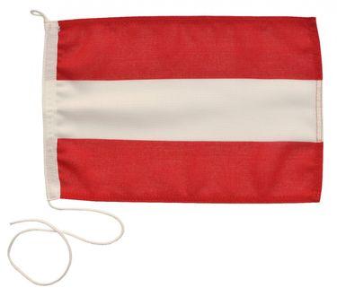 Navyline Gastlandflagge Österreich in zwei Größen