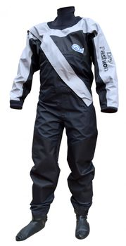 Dry Fashion Trockenanzug Profi Sailing Regatta schwarz/grau – Bild 1
