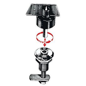Osculati Riegelverschluss - Einbau Ø 19 mm