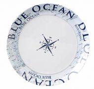 Navyline Blue Ocean - Hart-Kunststoff Essteller 001