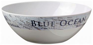 Navyline Blue Ocean - Hart-Kunststoff Salatschüssel