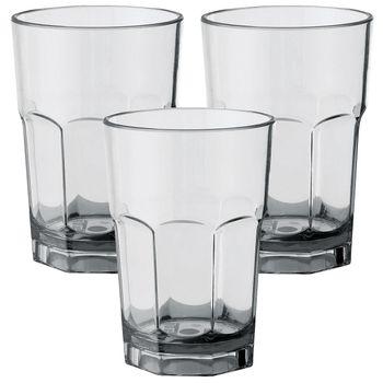 Polycarbonat Trinkgläser - 3 Stück