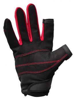 Musto Damen Herren Segelhandschuhe Essential Sailing Gloves - 2 Finger frei  – Bild 3