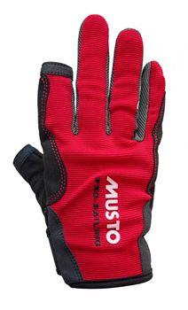 Musto Damen Herren Segelhandschuhe Essential Sailing Gloves - 2 Finger frei  – Bild 7