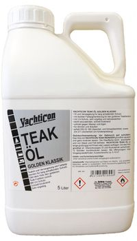 Yachticon Teaköl Golden Klassik 5 Liter