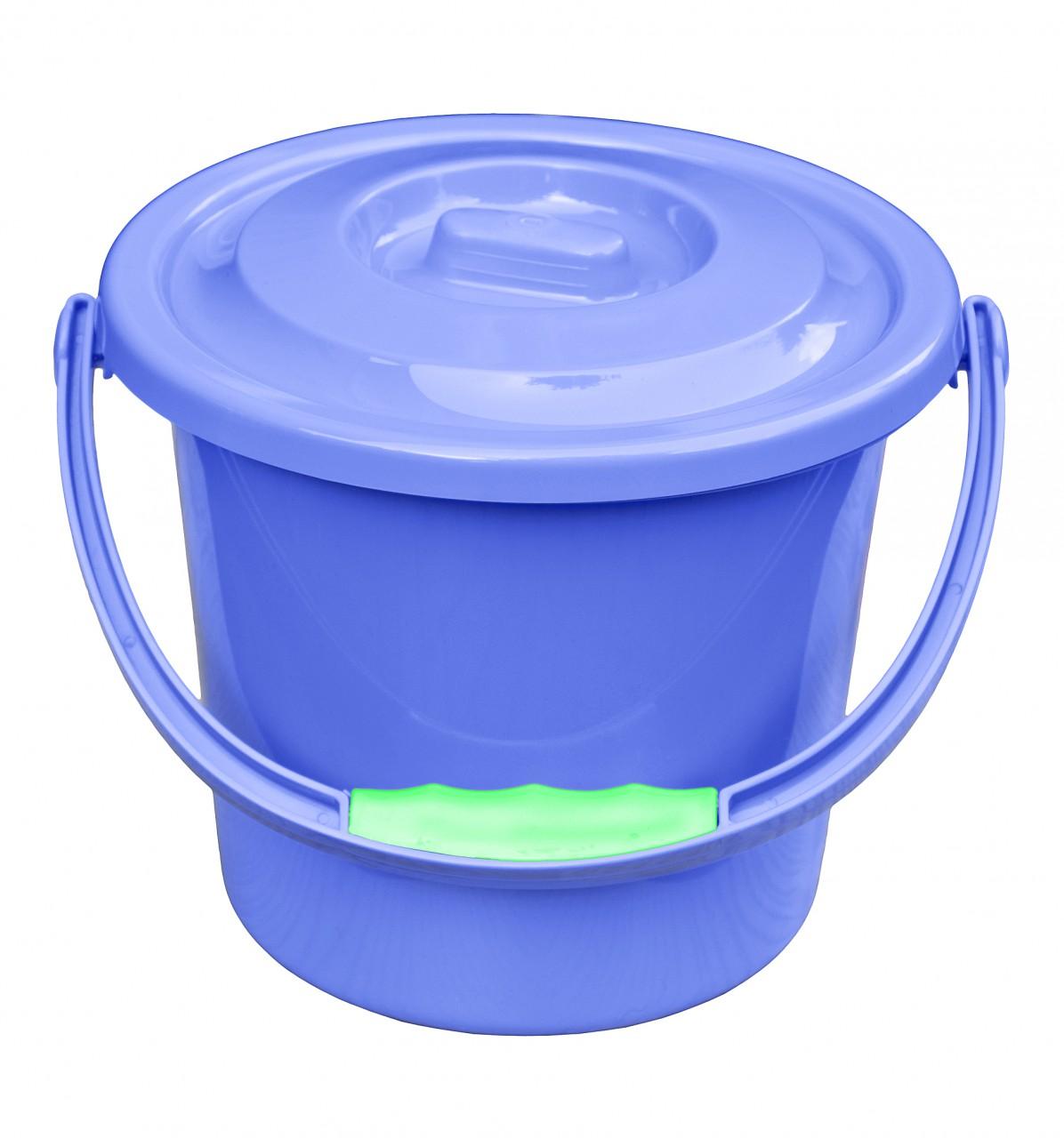 Sehr Yachticon Toiletten Eimer mit Deckel 5 Liter EN98