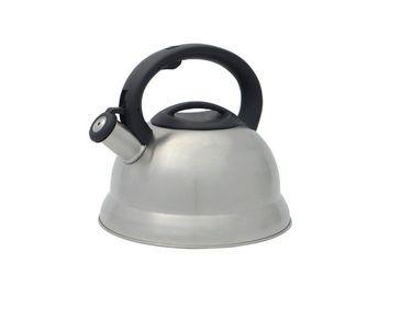 Edelstahl Wasserkessel mit Pfeife - 2,7 Liter