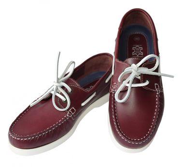 Beverley Originals Herren Leder Bootsschuh Men's Casual Sailor – Bild 5