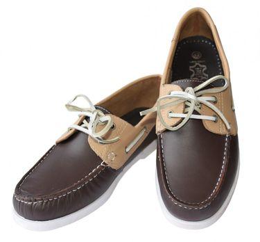 Beverley Originals Herren Leder Bootsschuh Men's Casual Deckschuhe – Bild 3