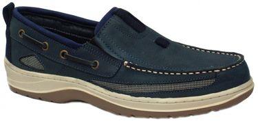 BluePort Herren Nubukleder Bootsschuh Deck – Bild 3