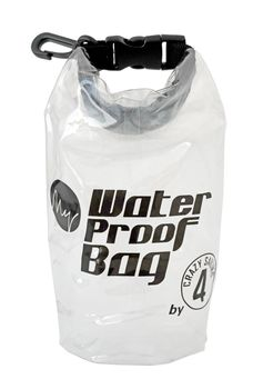 crazy4sailing Dry Bag wasserdichter Rollbeutel transparent – Bild 5