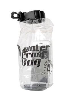 crazy4sailing Dry Bag wasserdichter Rollbeutel transparent – Bild 4