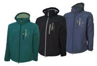 Dry Fashion Herren Softshell Jacke Langeoog 001