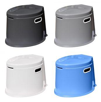 Yachticon stabile Eimer-Toilette in vier Farben – Bild 1