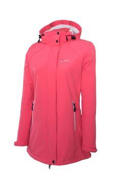 Dry Fashion Damen Softshell Mantel Sylt Regenmantel Parka Funktionsmantel Kapuze – Bild 1
